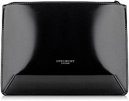 Духи, Парфюмерия, косметика Косметичка на молнии, черная лаковая - Givenchy