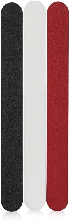 Пилка для ногтей 180/180 на деревянной основе, 178х19 мм - Baihe Hair
