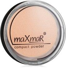 Духи, Парфюмерия, косметика Компактная пудра для лица - MaxMar Compact Powder