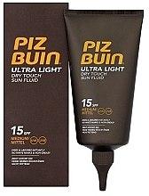Духи, Парфюмерия, косметика Флюид для тела - Piz Buin Ultra Light Dry Touch SPF15