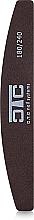 Духи, Парфюмерия, косметика Пилка банан, коричневая пластик 180/240 - C.T.C Nail Systems