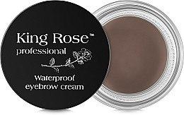 Парфумерія, косметика Водостійкий крем для брів + пензлик - King Rose