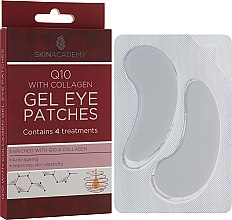 Духи, Парфюмерия, косметика Патчи под глаза - Skin Academy Q10 With Collagen Gel Eye Patches