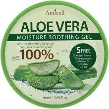Духи, Парфюмерия, косметика Увлажняющий гель для лица и тела - Amicell Aloe Vera Moisture Soothing Gel