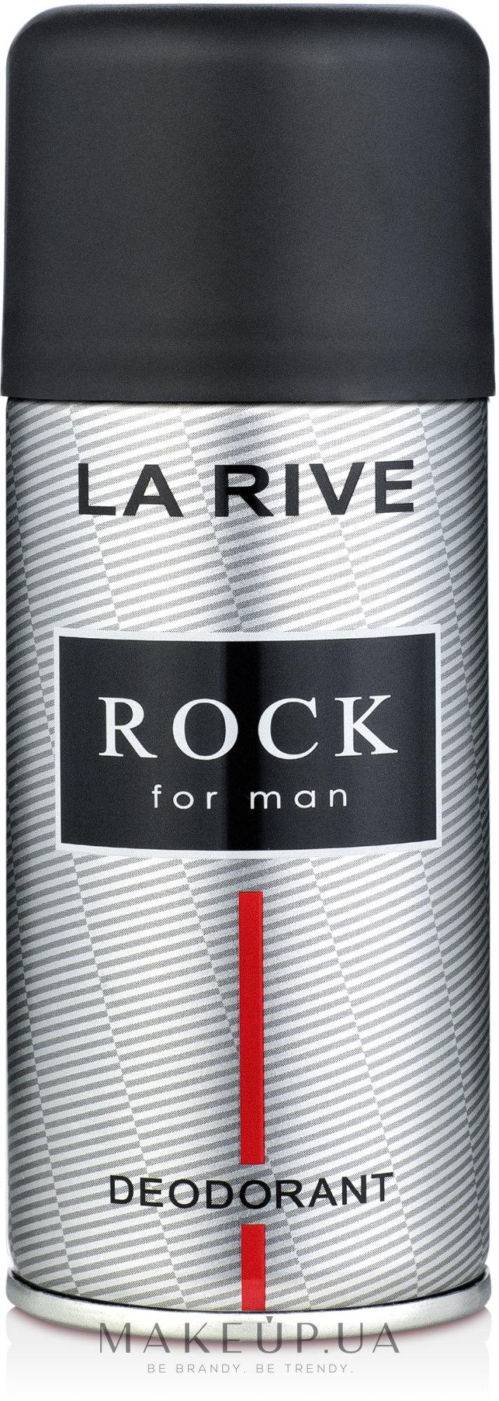 La Rive Rock - Дезодорант — фото 150ml