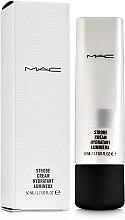 Парфумерія, косметика Зволожувальний крем з ефектом сяйва - MAC Strobe Cream Hydratant Lumineux
