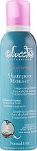 Духи, Парфюмерия, косметика Пенный шампунь для нормальных волос - Sweet Professional Experience Mousse Normal Hair Shampoo