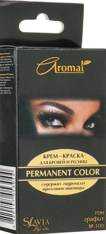Крем-краска для бровей и ресниц - Аромат Slavia