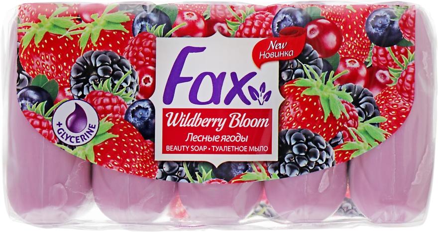 """Туалетное мыло """"Лесные ягоды"""" - Fax Soap (Эко-пак)"""