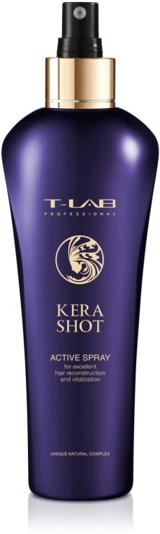 Спрей для превосходной реконструкции и витализации - T-LAB Professional Kera Shot Active Spray