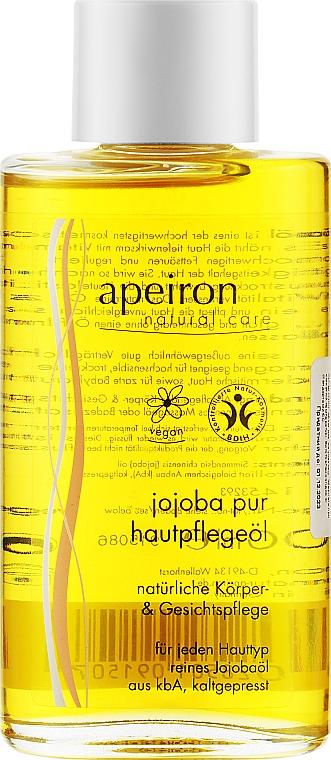 Чистое масло жожоба - Apeiron Jojoba Oil Pure