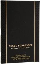 Духи, Парфюмерия, косметика Angel Schlesser Absolute Oriental - Туалетная вода (пробник)