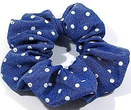 Духи, Парфюмерия, косметика Резинка широкая синяя, d-491 - Dini Every Day