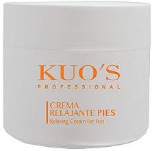 Духи, Парфюмерия, косметика Крем релаксирующий для ног - Kuo's Beauty Foot Relaxing Cream For Feet