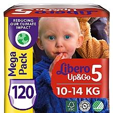 Духи, Парфюмерия, косметика Подгузники-трусики Up&Go 5 (10-14 кг), 120 шт (2х60) - Libero