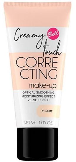 Тональный флюид для лица - Bell Creamy Touch Correcting Foundation