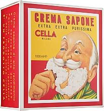 Духи, Парфюмерия, косметика Крем-мыло для бритья с маслом миндаля - Cella Milano Crema Da Barba Barber Collection