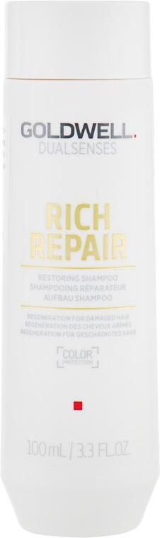 Восстанавливающий шампунь для сухих и поврежденных волос - Goldwell Dualsenses Rich Repair Restoring Shampoo — фото N1