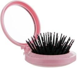 Духи, Парфюмерия, косметика Расческа для волос с зеркальцем, CR-4000, розовая - Christian
