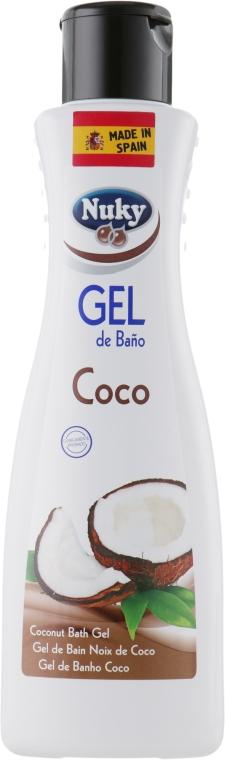 Гель для душа - Nuky Bath Gel Coconut