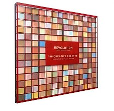 Палетка теней для век, 196 оттенка - Makeup Revolution 196 Creative Palette Eyeshadow Palette — фото N1