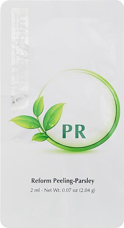 Крем-пилинг с экстрактом петрушки - Onmacabim PR Line Perform Peeling Parsley (пробник)