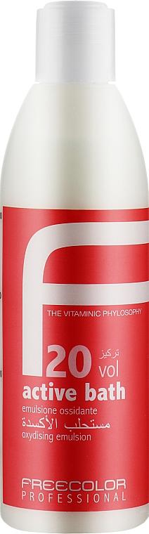 Окисляющая эмульсия, 20 Vol - Oyster Cosmetics Freecolor Oxidising Emulsion