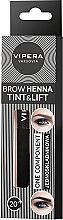 Парфумерія, косметика Однокомпонентна хна для брів - Vipera Tint&Lift Brow Henna