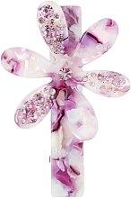 "Духи, Парфюмерия, косметика Заколка для волос ""Цветок"", 1430, фиолетовый - Элита"