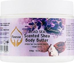 """Духи, Парфюмерия, косметика Масло для тела на основе ореха Ши """"Лаванда"""" - Finesse Dead Sea Scented Shea Body Butter"""