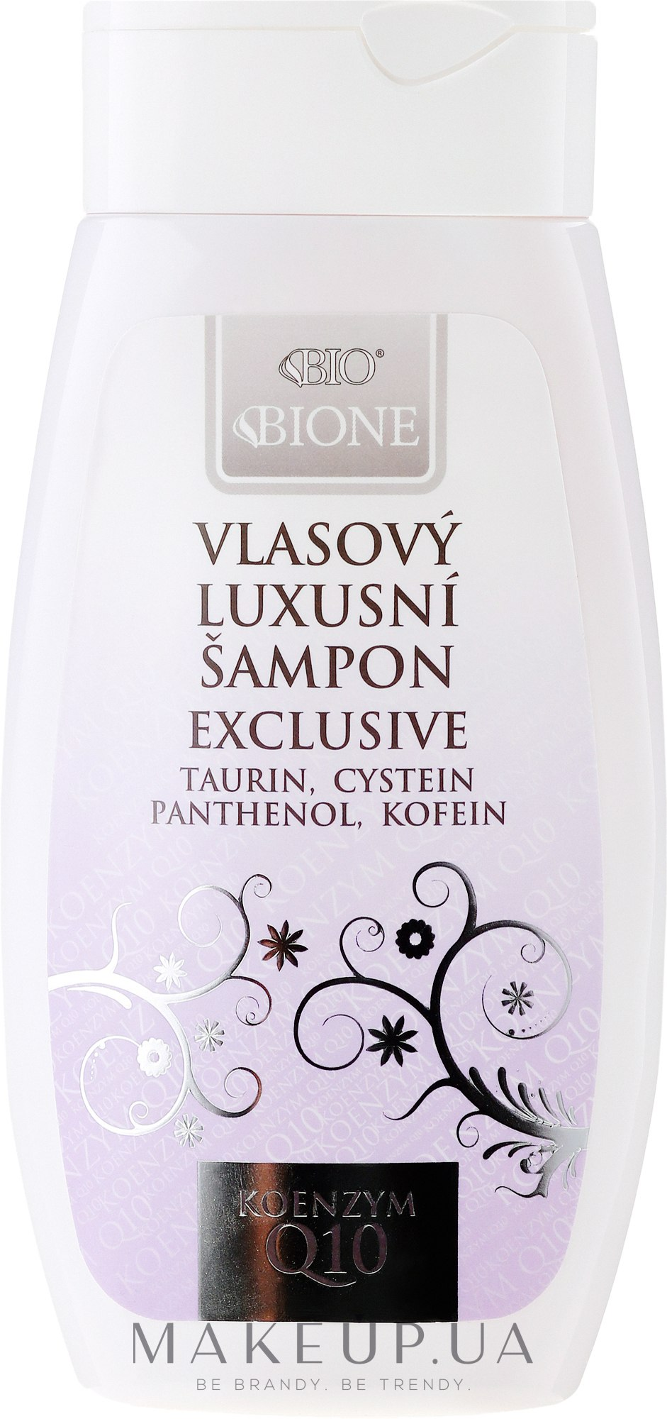 Шампунь для волос - Bione Cosmetics Exclusive Luxury Hair Shampoo With Q10 — фото 260ml