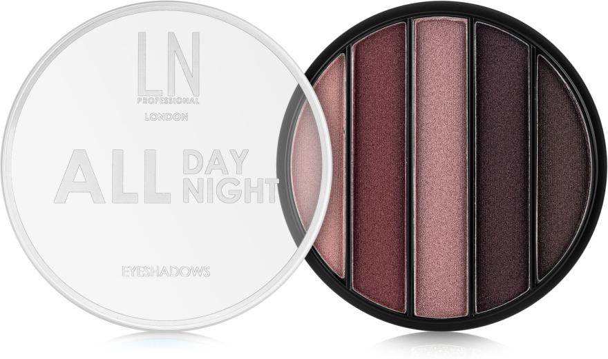 Тени для век - LN Professional All Day All Night Eyeshadows — фото N1