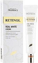 Духи, Парфюмерия, косметика Крем для век и носогубных складок - Deoproce Retinol Real White Cream