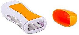 Духи, Парфюмерия, косметика Воскоплав кассетный одинарный для нагрева воска, оранжевый - Avenir Cosmetics