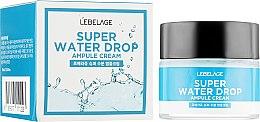 Духи, Парфюмерия, косметика Ампульный крем суперувлажняющий - Lebelage Ampule Cream Super Water Drop