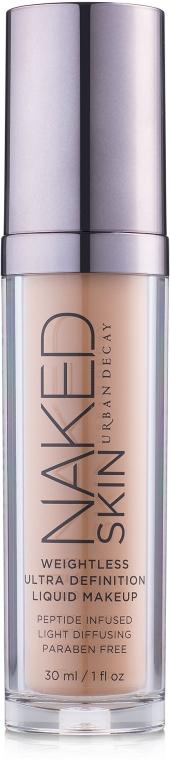 Жидкая тональная основа - Urban Decay Naked Skin Weightless Ultra Definition Make Up — фото N2