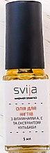 Духи, Парфюмерия, косметика Масло для ногтей с витаминами А, Е и экстрактом одуванчика - Svija Nail Oil