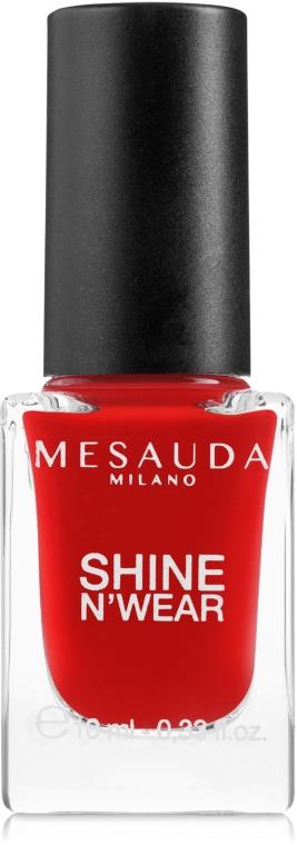 Лак для ногтей - Mesauda Milano Shine N`Wear Nail Polish