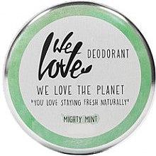 """Духи, Парфюмерия, косметика Натуральный кремовый дезодорант """"Мята"""" - We Love The Planet Mighty Mint Cream Deodorant"""