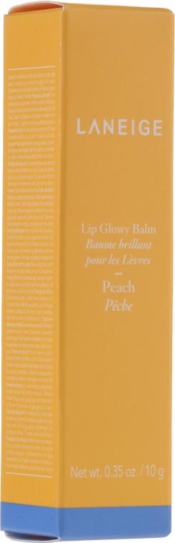 """Оттеночный блеск-бальзам для губ """"Персик"""" - Laneige Lip Glowy Balm Peach"""