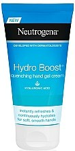 Духи, Парфюмерия, косметика Крем для рук - Neutrogena Hydro Boost Quenching Hand Gel Cream