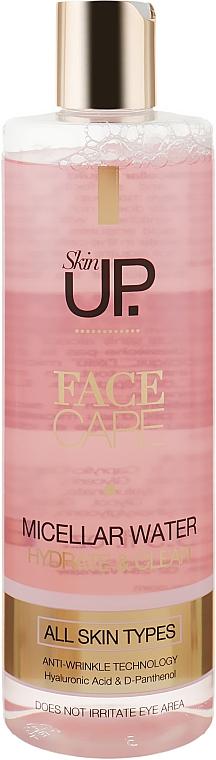 Мицеллярная жидкость для демакияжа глаз и лица - Verona Laboratories Skin Up Micellar Water Eye and Facial Makeup Remover
