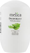 Духи, Парфюмерия, косметика Дезодорант с экстрактом алоэ - Melica With Aloe Extract Deodorant