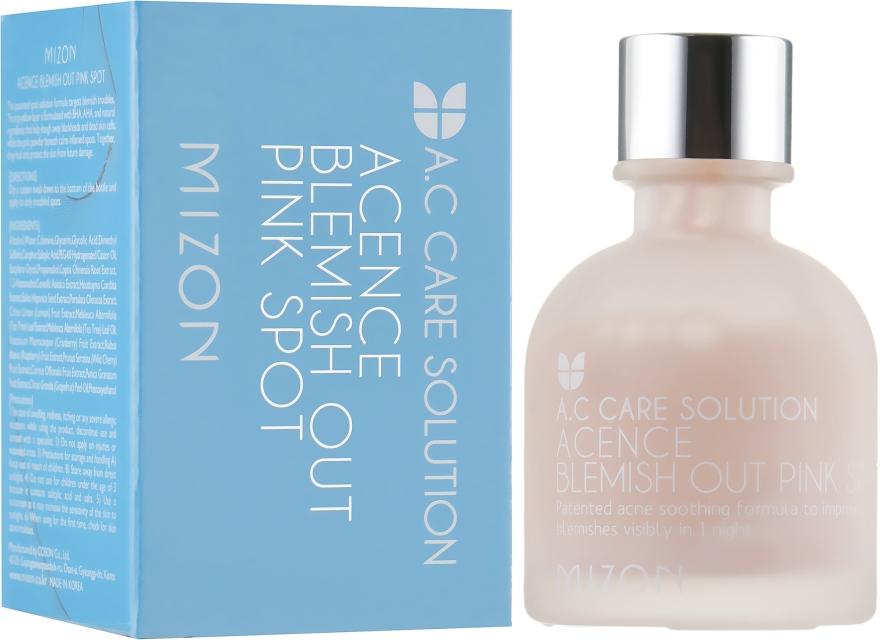 Эффективное ночное средство для лечения акне - Mizon Acence Blemish Out Pink Spot