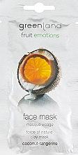 "Духи, Парфюмерия, косметика Маска для лица ""Кокос-Мандарин"" - Greenland Coconut-Tangerine Face Mask"