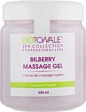 Крем-масло для массажа с черникой - Biotonale Bilberry Massage Gel — фото N5
