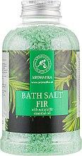 Духи, Парфюмерия, косметика Соль морская для ванн «Пихта» - Aromatika Bath Salt Fir Needle