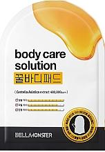 Духи, Парфюмерия, косметика Пилинг-пэды для тела очищающие с экстрактом мёда - BellaMonster Body Care Solution Honey Pad