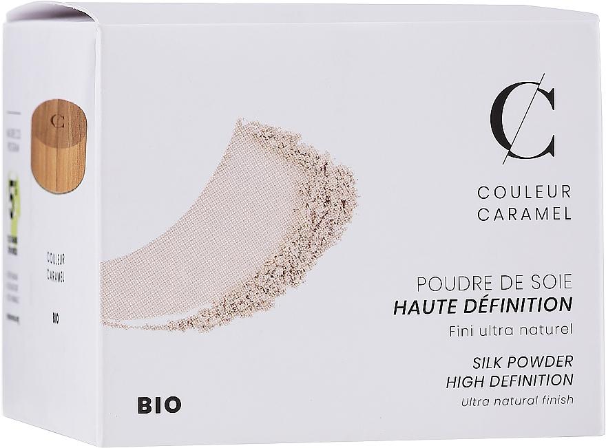 Минеральная полупрозрачная рассыпчатая пудра - Couleur Caramel High Definition Silk Powder