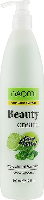 Крем для ніг - Naomi Beauty Cream Foot Care System — фото N3